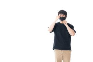 中国語でマスクをつけるはどう言う?発音と例文集